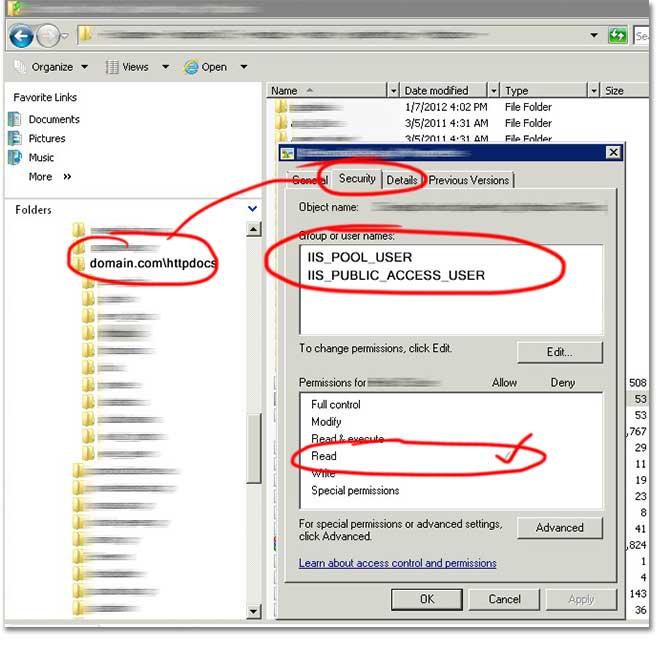 coreplus how to set permissions